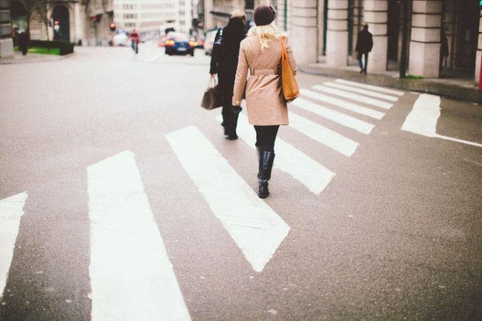 Japão e faixa de pedestres