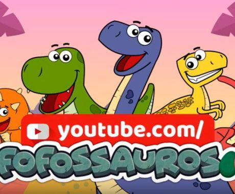 Vídeo novo dos Fofossauros