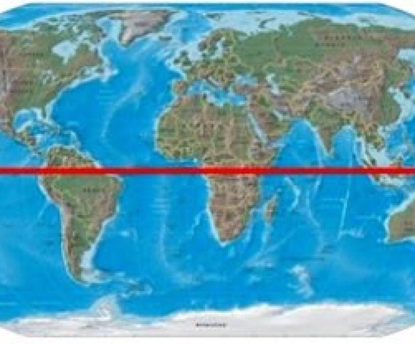 Brasil e a Linha do Equador