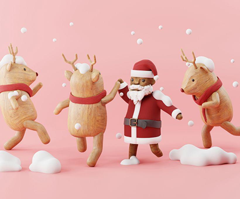 Por que as renas do Papai Noel são mais rápidas do Mundo?