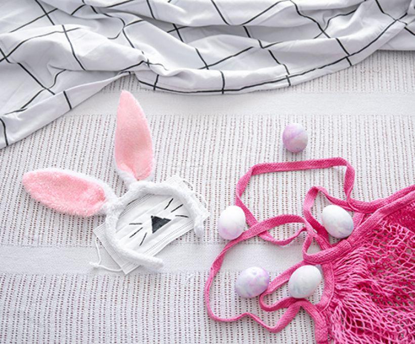 Faça a sua própria orelha de coelho para esta Páscoa