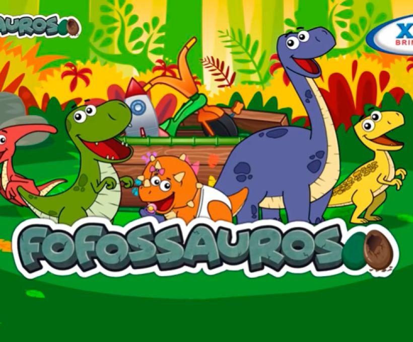 Tem novos vídeos dos Fofossauros